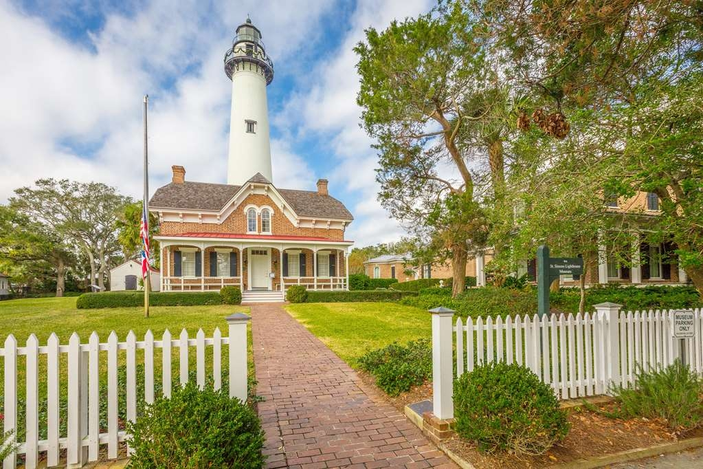 Best Western Plus St. Simons - The Light House of St. Simons Island is a must see during your stay on the island.