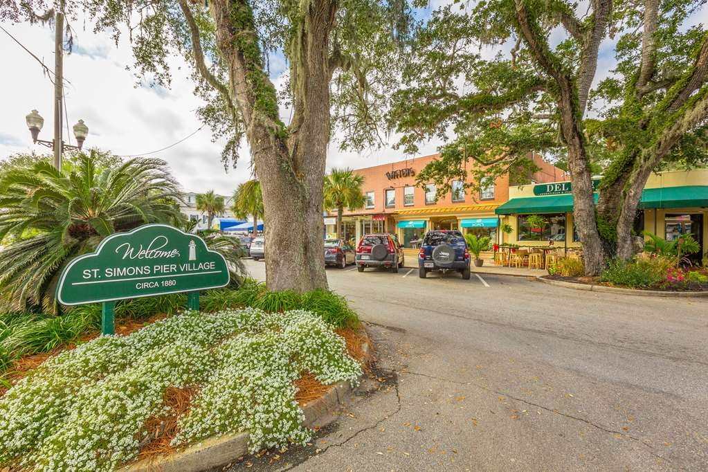 Best Western Plus St. Simons - We are just minutes away from the Pier Village of St. Simons Island.