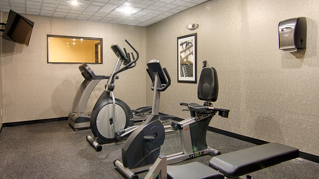 Best Western Plus North Savannah - Fitness Room