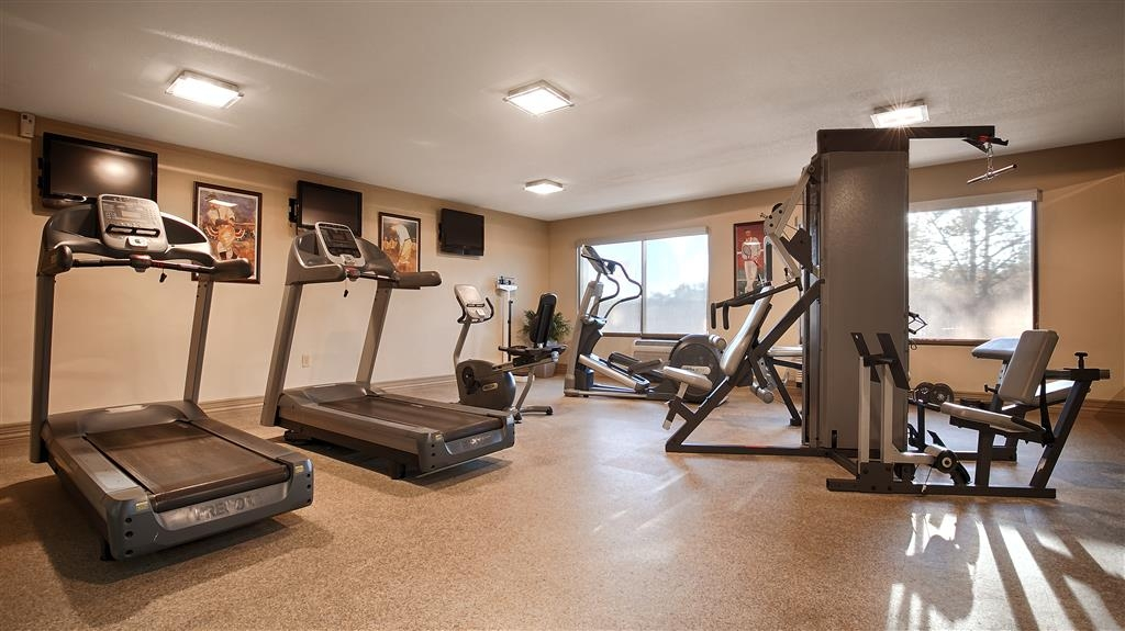 Best Western Plus Madison-Huntsville Hotel - Stay active in our fitness center with a variety of equipment.