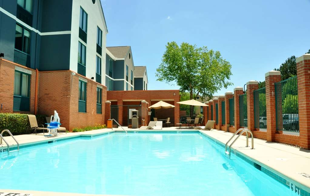 Best Western Plus Roswell/Alpharetta - We installed the ADA mobility accessible pool lift system to help those with disabilities not miss out on any of the action.