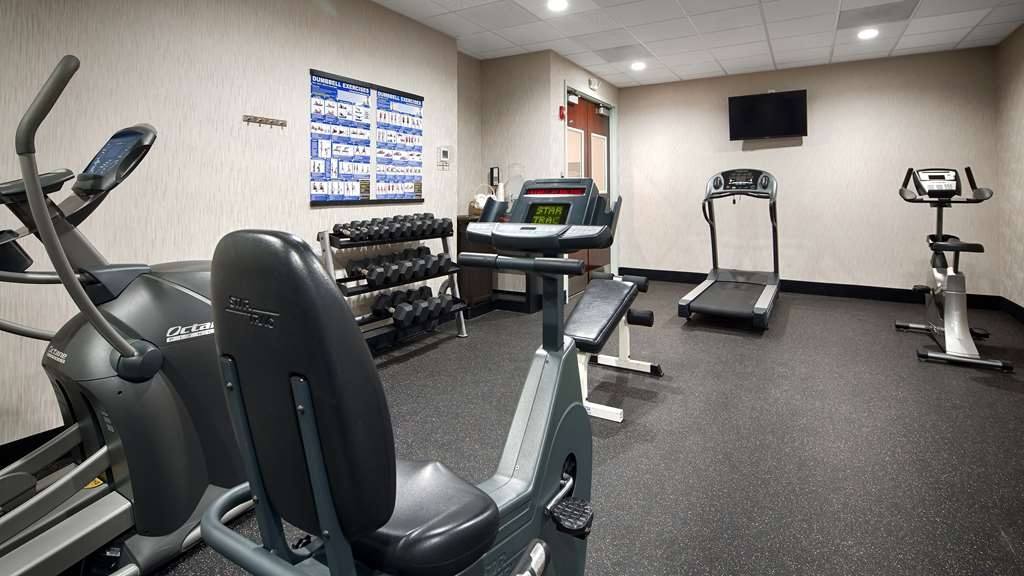 Best Western Plus Roswell/Alpharetta - Our fitness center is outfitted with everything you need for a great workout.