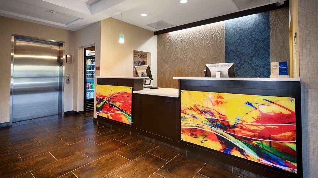 Best Western Plus Fairburn-Atlanta Southwest - Vue du lobby