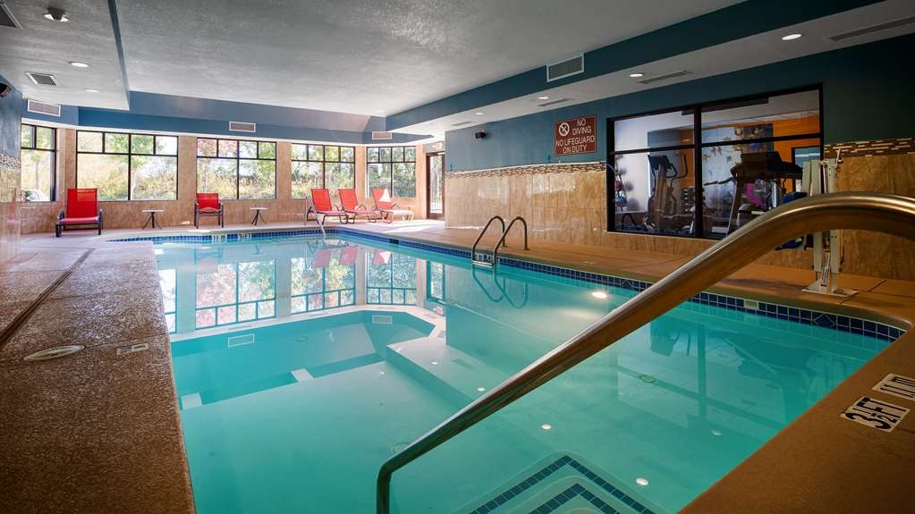 Best Western Plus Fairburn-Atlanta Southwest - Wether you want to relax poolside or take a dip, our heated indoor pool area is the perfect place to unwind.