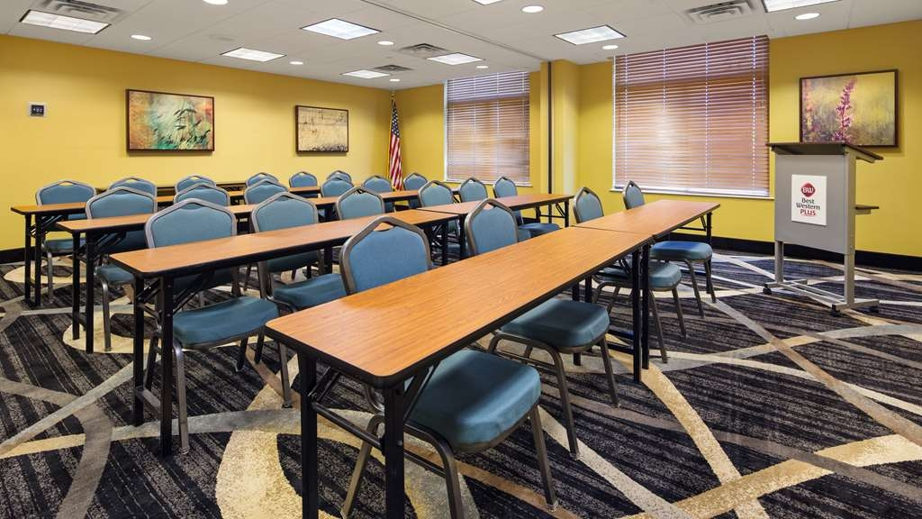 Best Western Plus Birmingham Inn & Suites - Our Conference Room seats 40 comfortably and is perfect for that training session coming up! Call us today to reserve this meeting space.