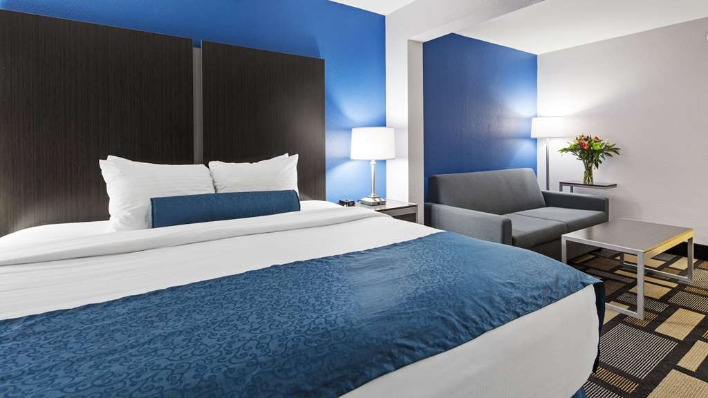 Best Western Plus Birmingham Inn & Suites - King Junior Suite is just perfect for the corporate client.