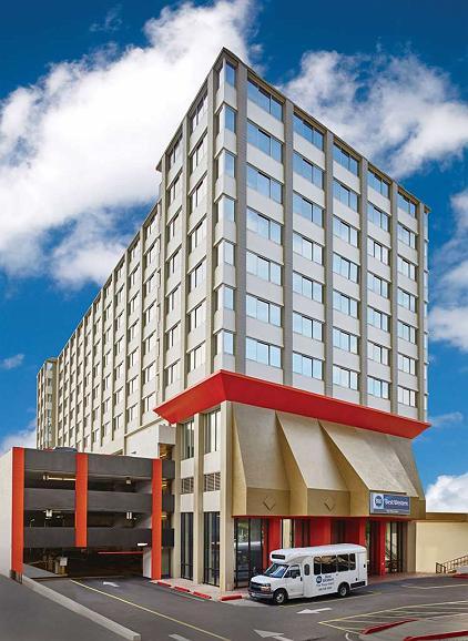 Best Western The Plaza Hotel - Vista exterior