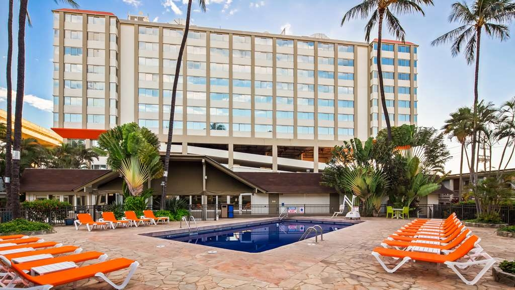 Best Western The Plaza Hotel - Piscina