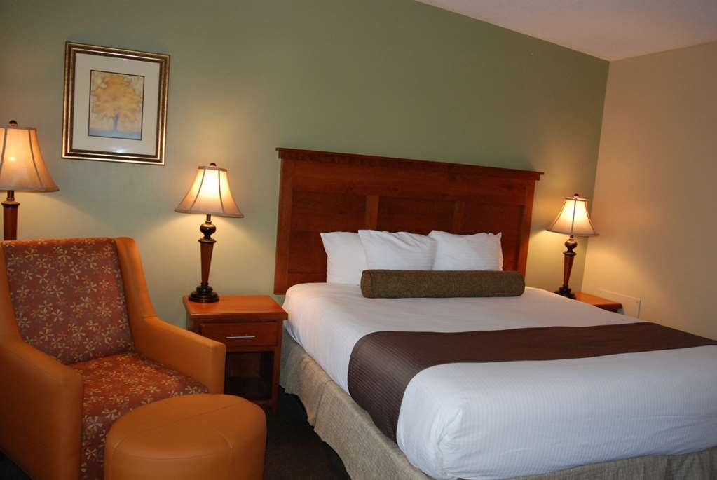Best Western Driftwood Inn - One queen bed room located in the courtyard.