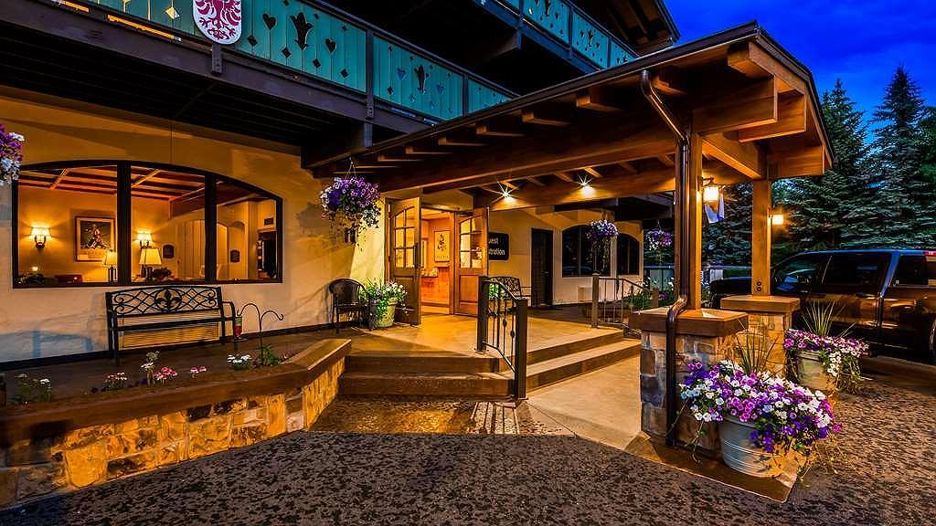 Best Western Tyrolean Lodge - Aussenansicht