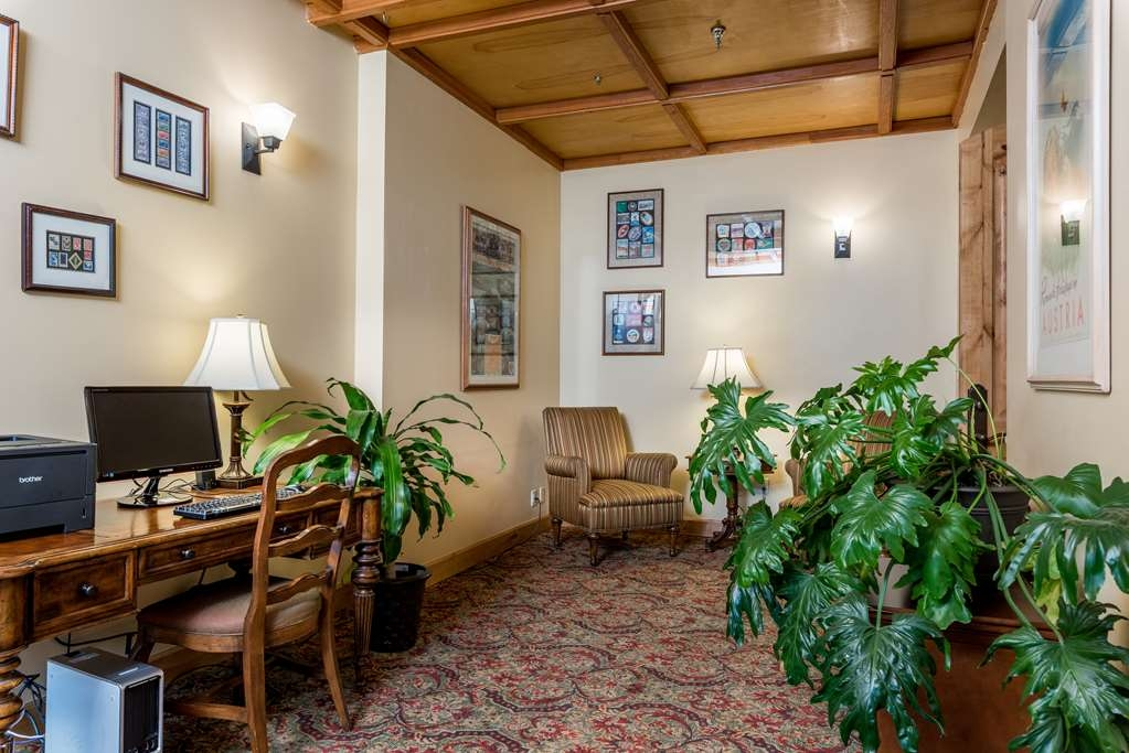 Best Western Tyrolean Lodge - Hall dell'hotel