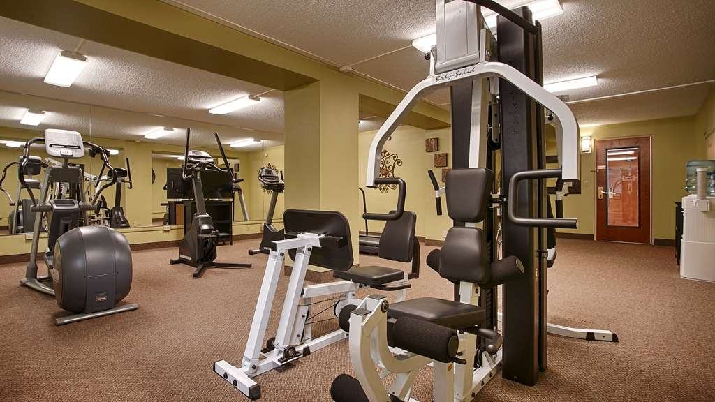 Best Western Plus Burley Inn & Convention Center - Sala fitness