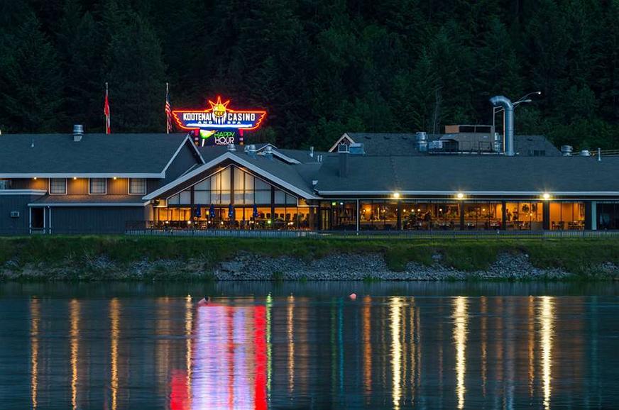 Best Western Plus Kootenai River Inn Casino & Spa - Best Western Plus Kootenai River Inn Casino & Spa - View from the Kootenai River at sunset.