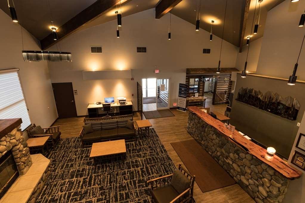 Best Western Sawtooth Inn & Suites - Vue du lobby