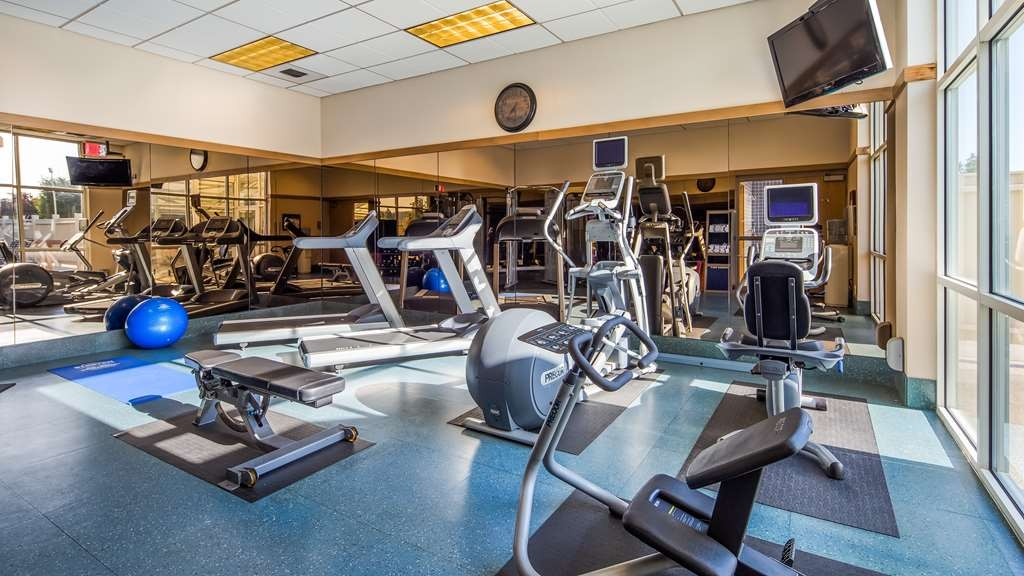 Best Western Plus Coeur d'Alene Inn - Stay active in our fitness center with a variety of equipment.