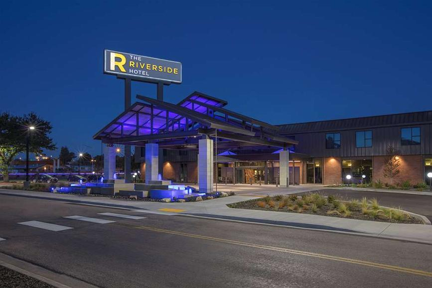 The Riverside Hotel, BW Premier Collection - The Riverside Hotel, BW Premier Collection - Porte Cochere and Main Entry