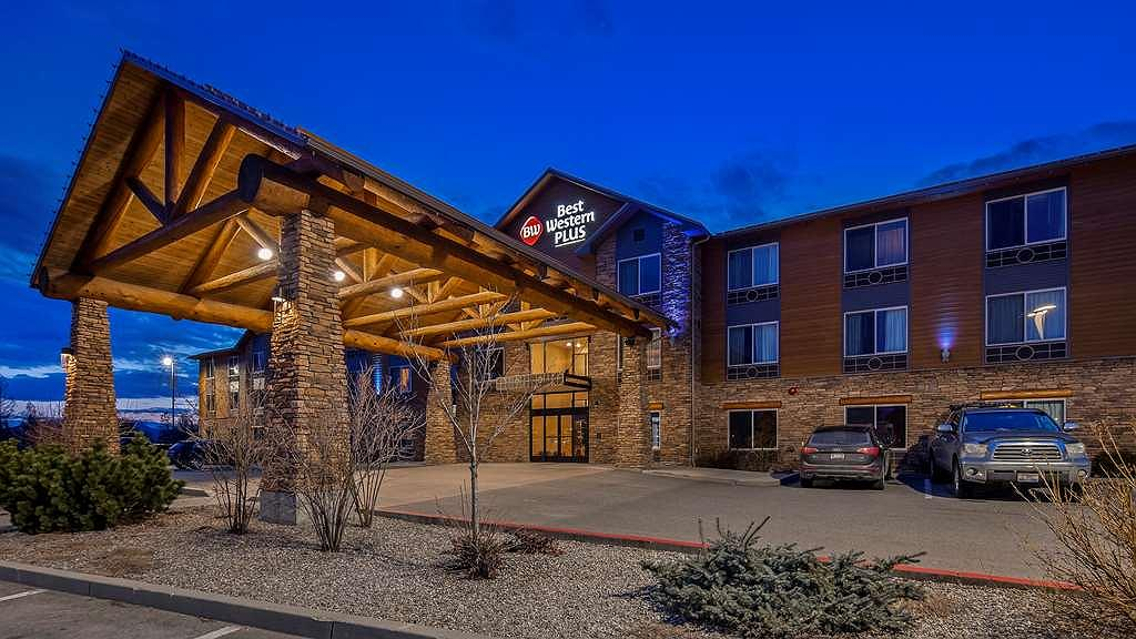 Best Western Plus Ponderay Mountain Lodge - Vista exterior
