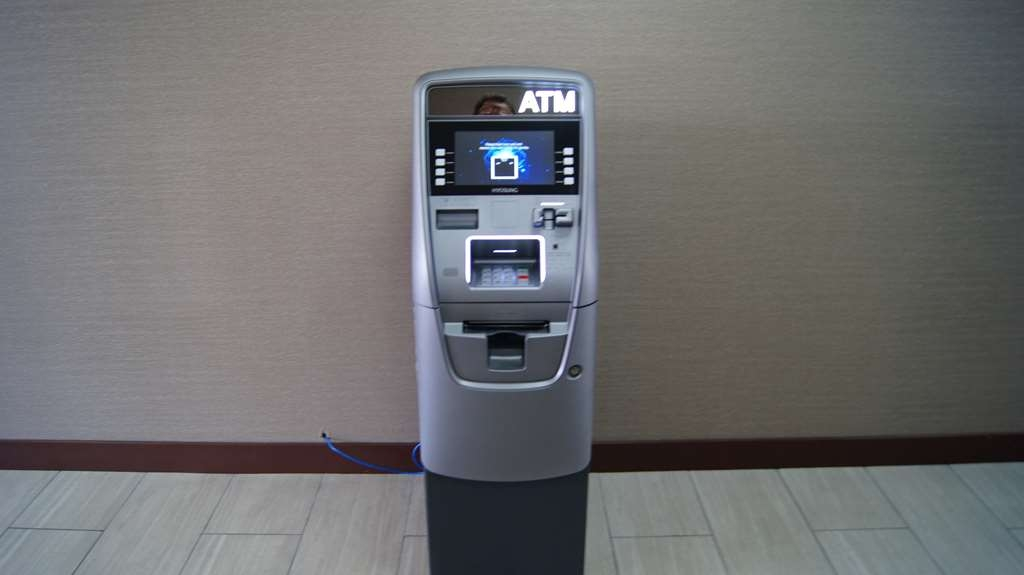 Best Western at O'Hare - Our ATM machine is located in the wide side entrance.