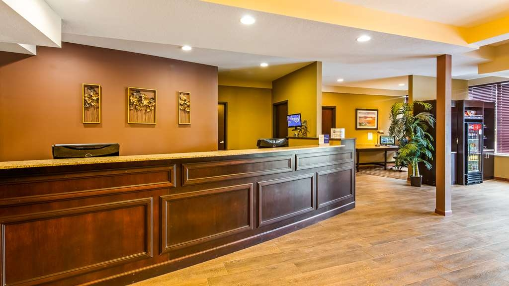 Best Western Paradise Inn - Vista del vestíbulo