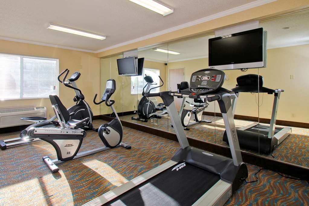 Best Western Airport Inn - Get a great workout in our fitness room.