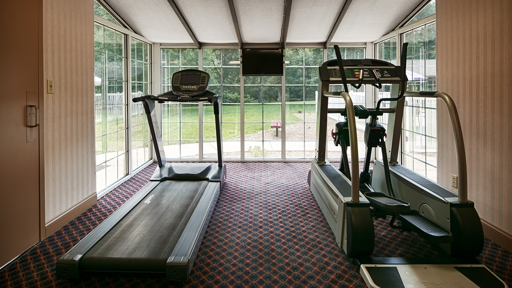 Best Western Chester Hotel - Our fitness center is outfitted with everything you need for a great workout.
