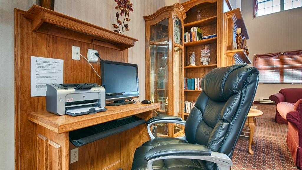 Best Western Chester Hotel - Stay productive during your time away from home in our business center.