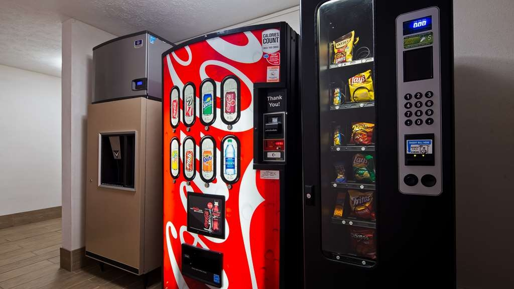 Best Western Regency Inn - Visit our on-site vending machines for your favorite snacks.