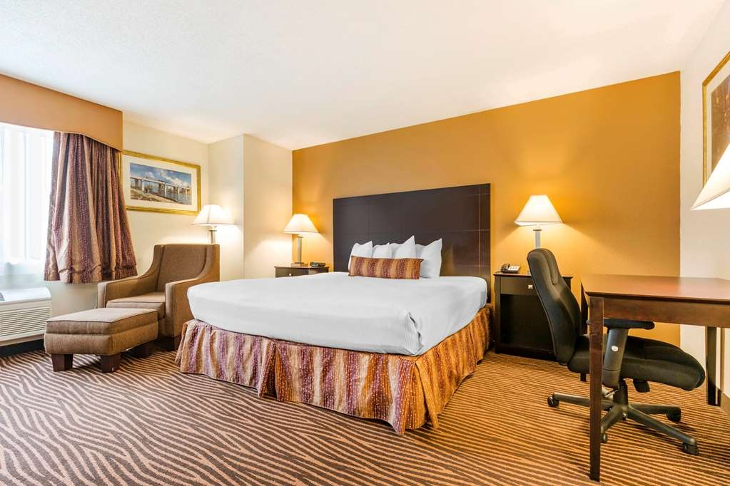 Best Western Des Plaines Inn - At the end of a long day, relax in our clean, fresh King Guest Room.