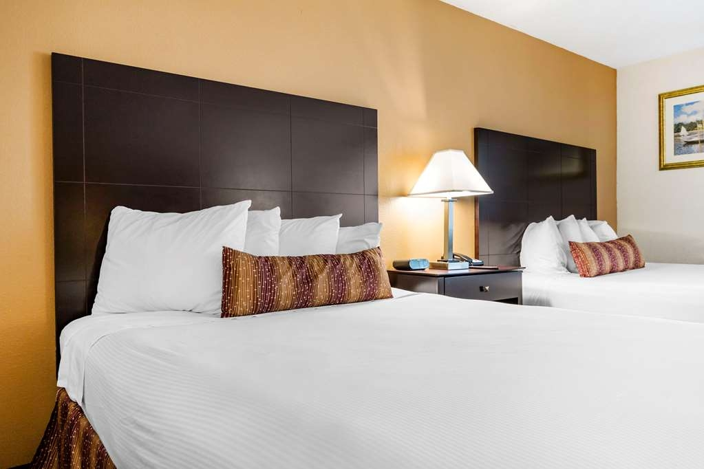 Best Western Des Plaines Inn - Pull back the covers, hop in and catch your favorite TV show in our Two Queen Guest Room.