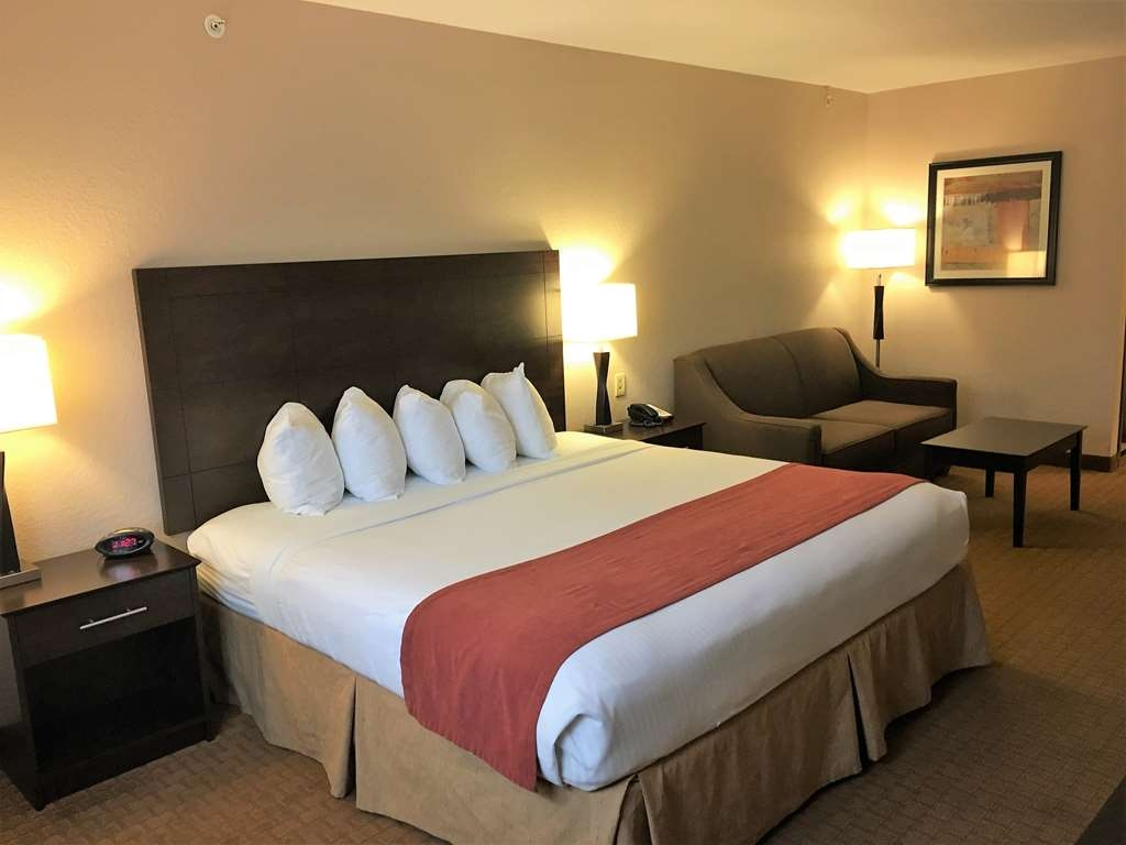 Best Western Lorson Inn - King Mini Suite is an oversized guest room with a sofa sleeper.