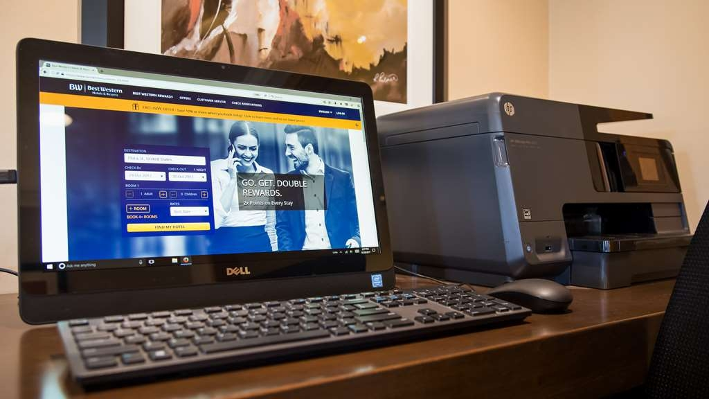 Best Western Lorson Inn - Hotel has free wifi and a complimentary business center.