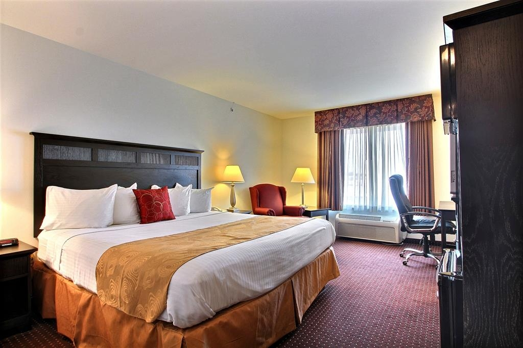 Best Western Legacy Inn & Suites Beloit-South Beloit - Chambre avec lit king size standard