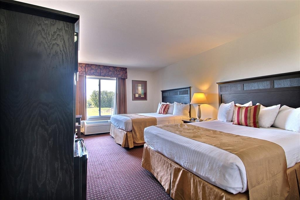 Best Western Legacy Inn & Suites Beloit-South Beloit - Chambre avec lit queen size double