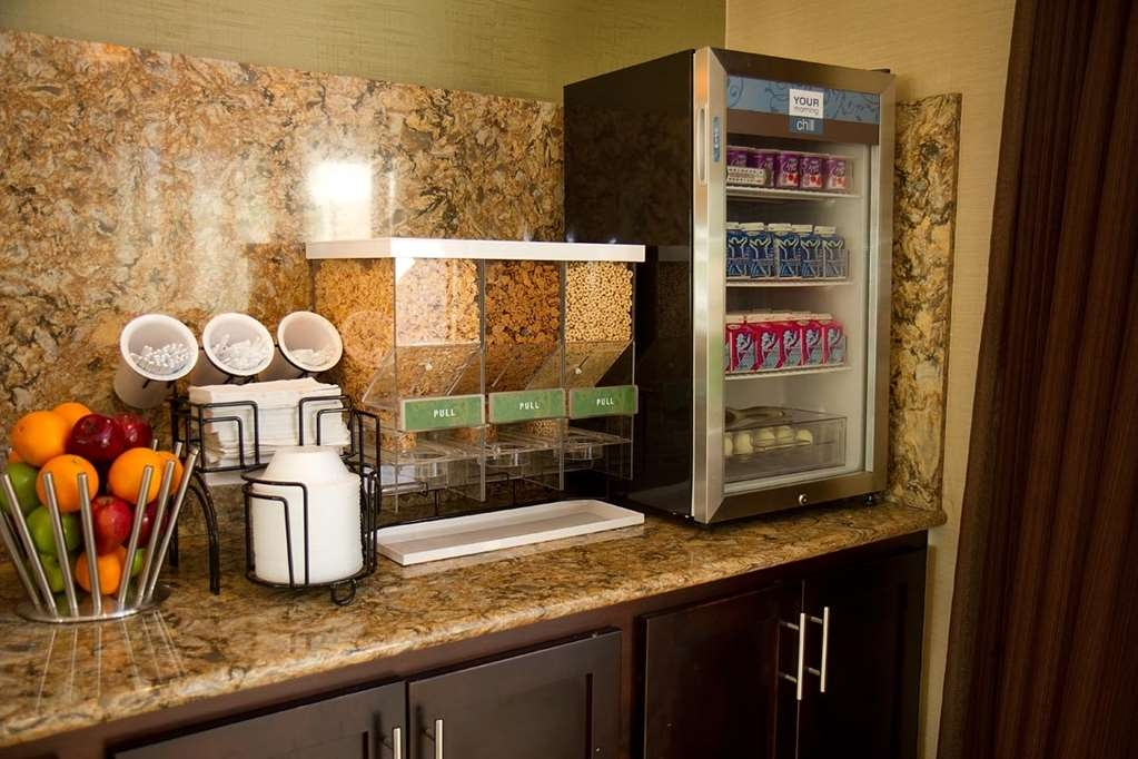 Best Western Plus Antioch Hotel & Suites - There is a wide variety of breakfast items to choose from everyday.