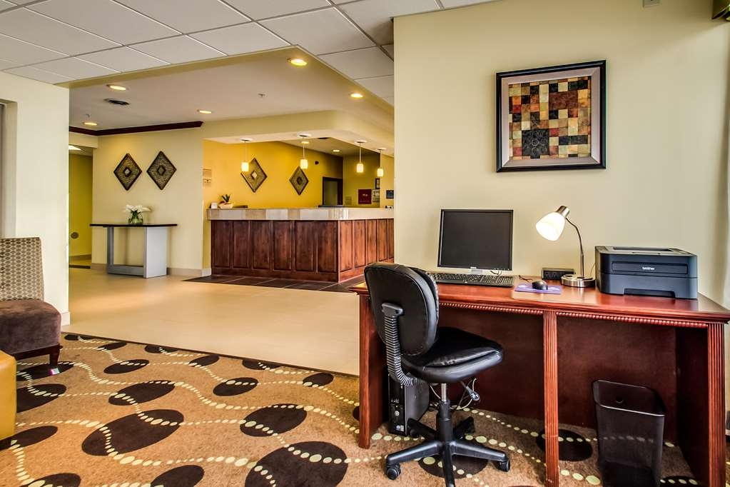 Best Western Geneseo Inn - Business Center on site.