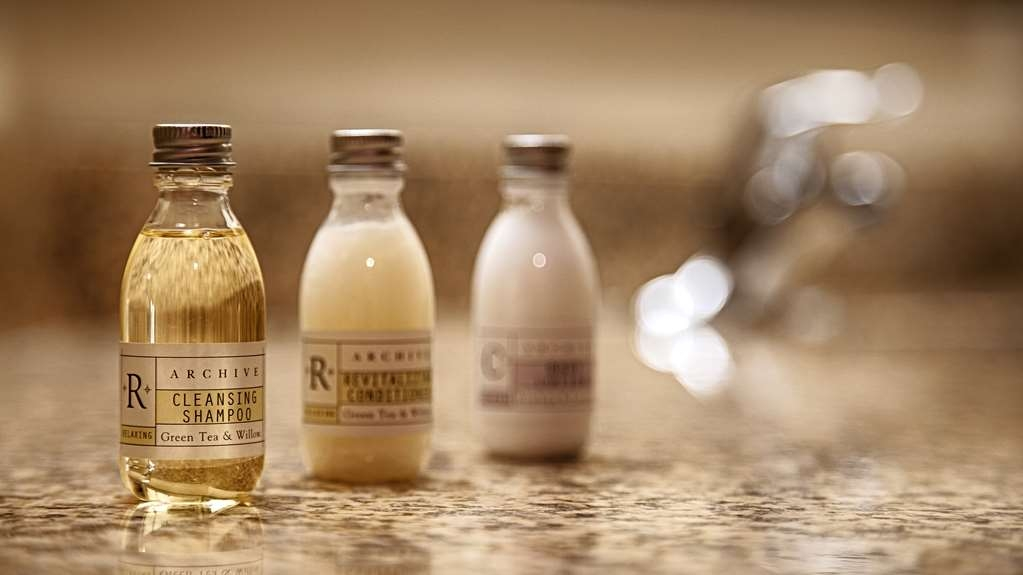 Best Western Plus Peoria - Forgot Shampoo? Don't worry we have you covered complimentary shampoo conditioner and lotion are provided.