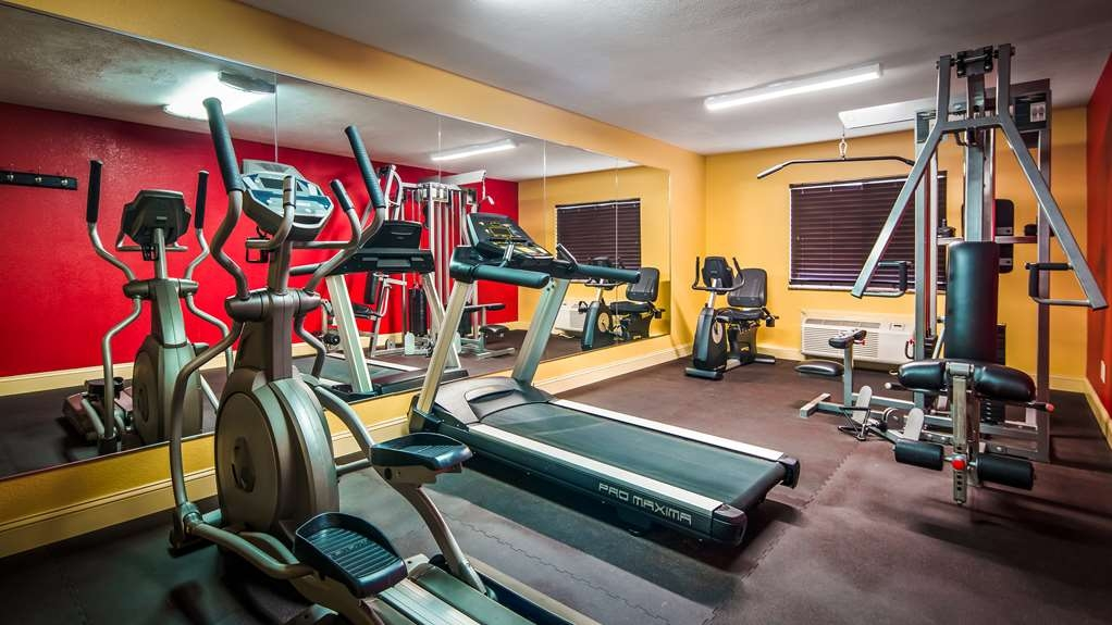 Best Western Jacksonville Inn - Our fitness center allows you to keep up with your home routine… even when you're not at home.