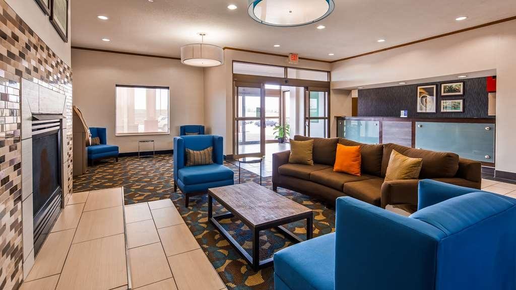 Best Western Troy Hotel - Vista del vestíbulo