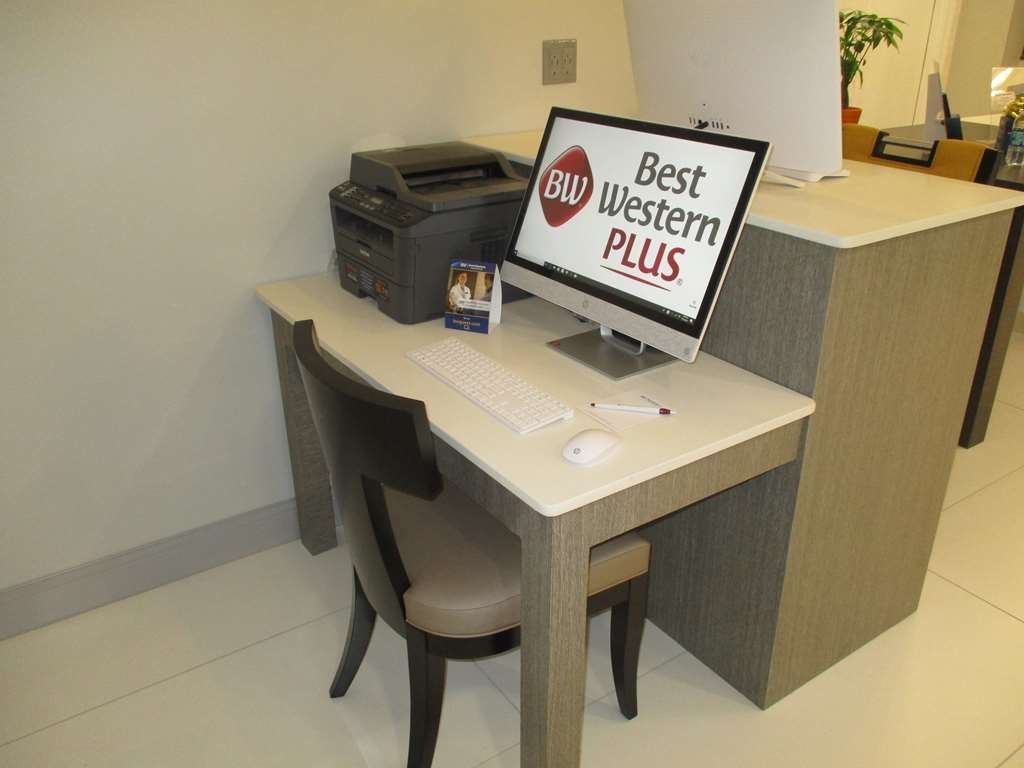 Best Western Plus Bloomington East Hotel - Use our business center to check your email and stay connected to loved ones.