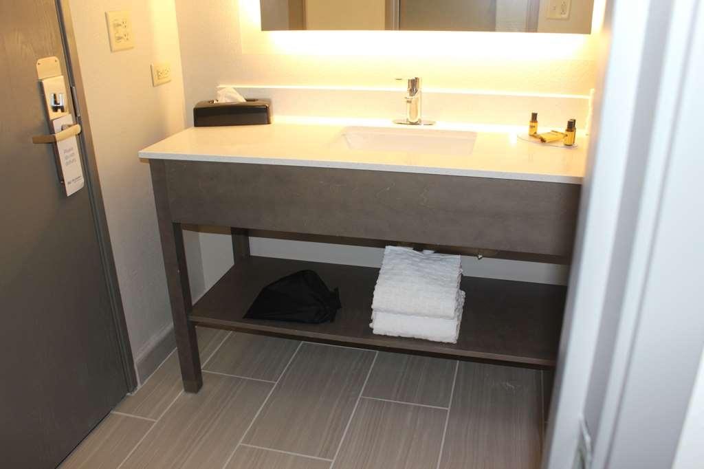 Best Western Plus Bolingbrook - Standard King Room Bathroom