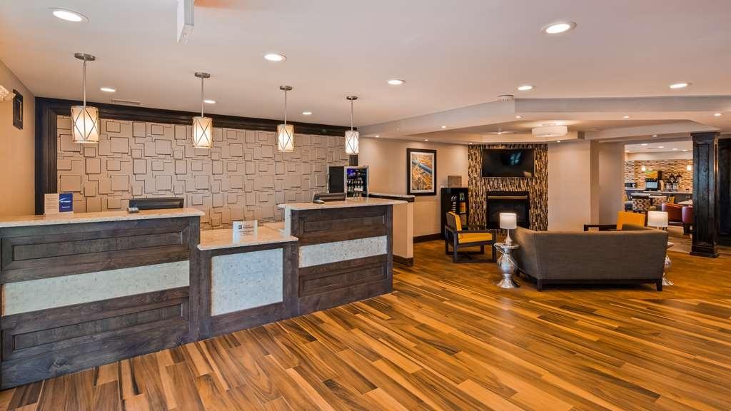 Best Western Plus North Joliet - Vue du lobby