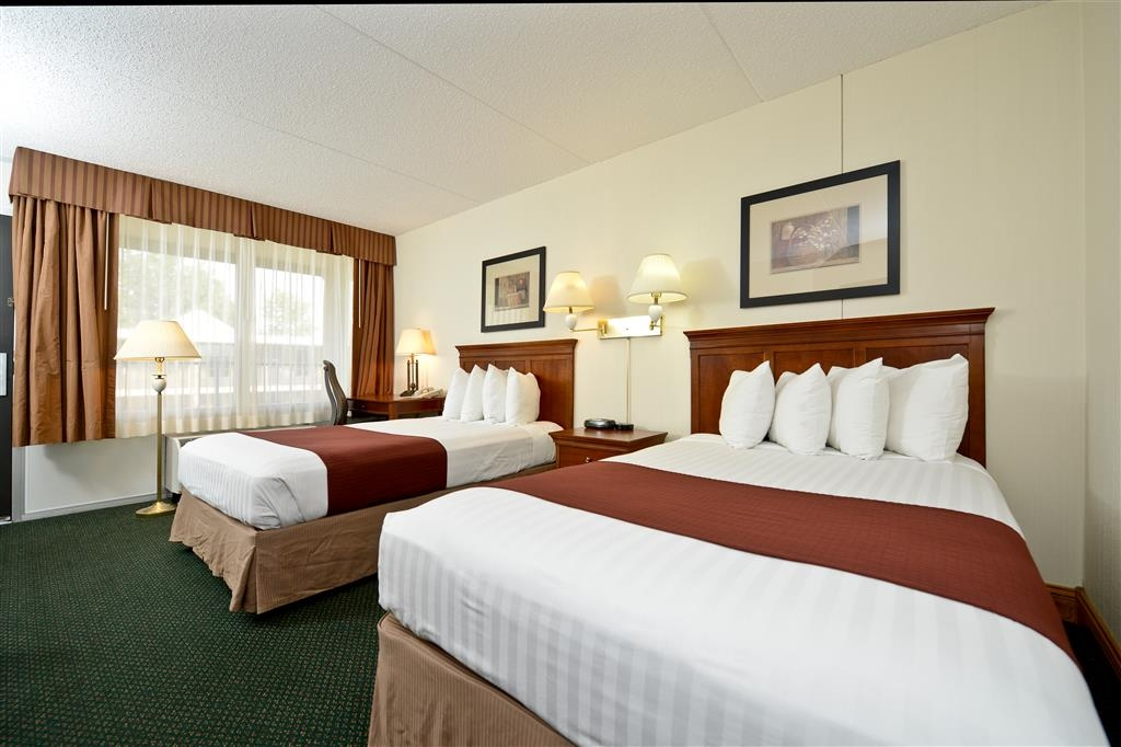 Best Western Inn - With all of the unbeatable in-room amenities in our guest rooms, you may not want to go home after your stay.