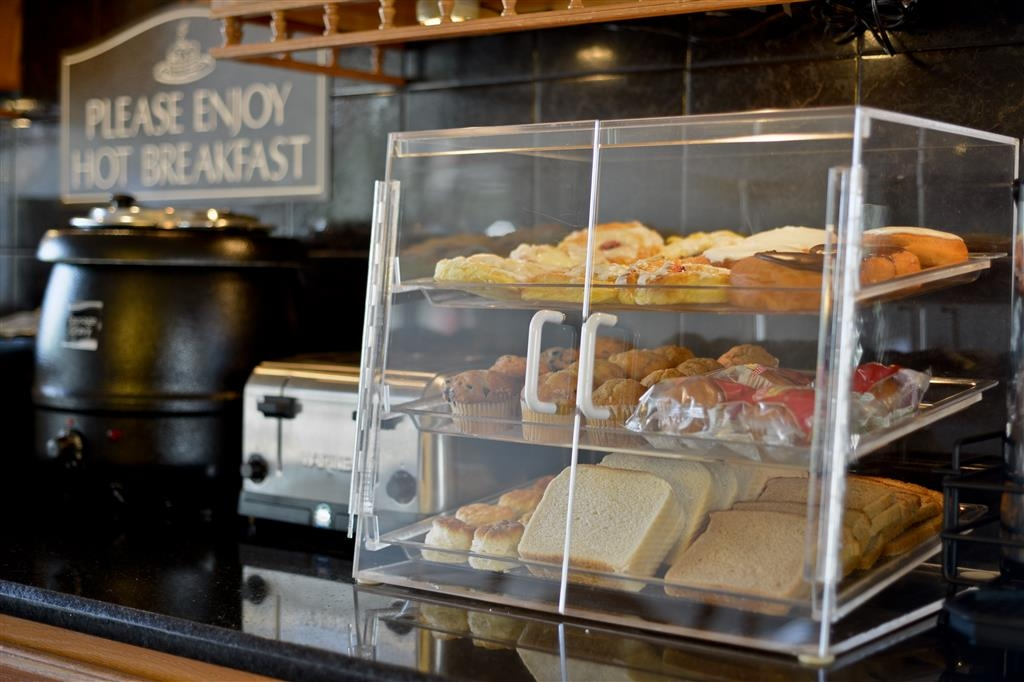 Best Western Inn - Locally baked pastries are a delicious option to begin your day and just one of the many choices at our award-winning complimentary breakfast!
