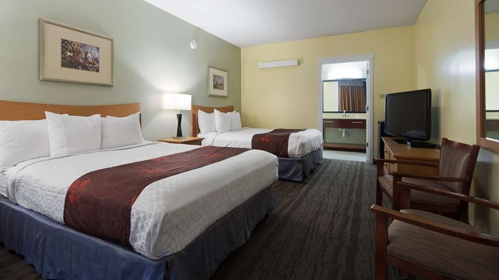 Best Western Inn - Stretch out and relax in the Two Queen Guest Room.