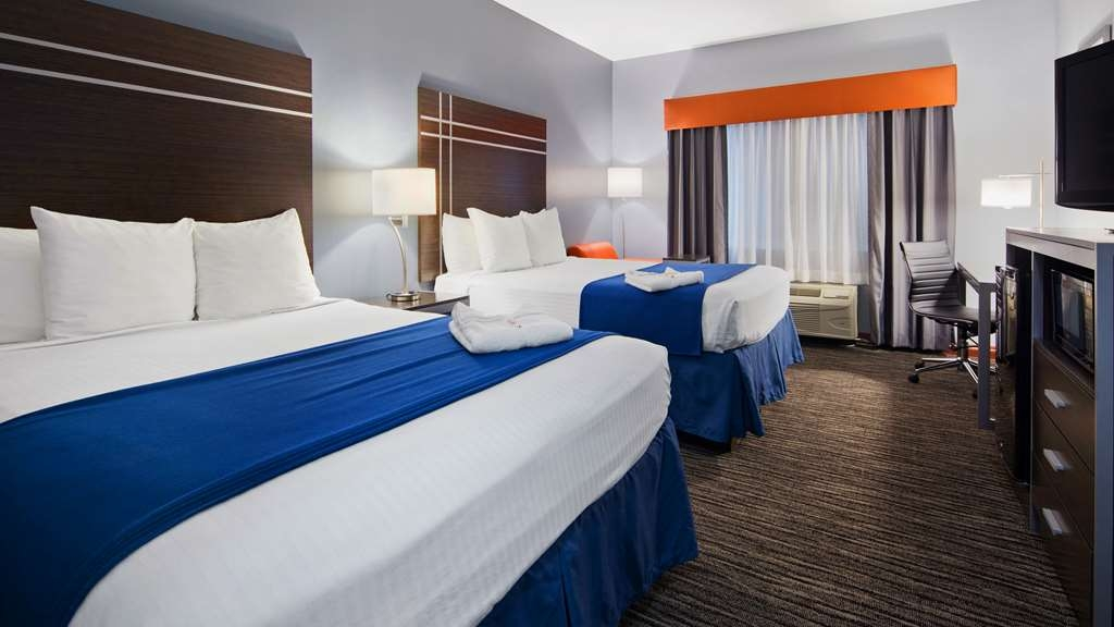 Best Western Inn & Suites - Make yourself at home in our Two Queen Guest Room.