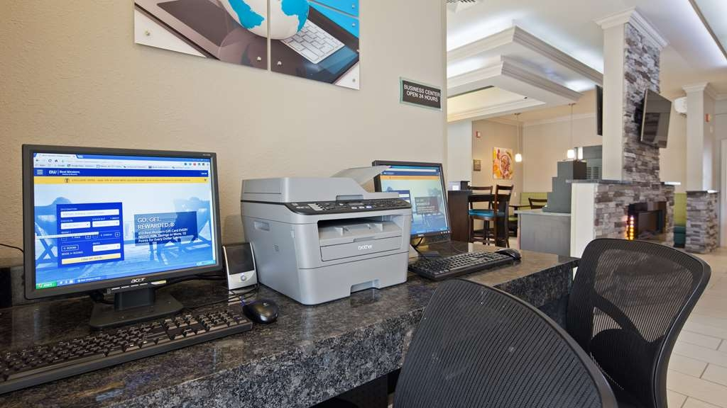 Best Western Inn & Suites - Check your email, stay connected to loved ones and book your next stay in our business center.