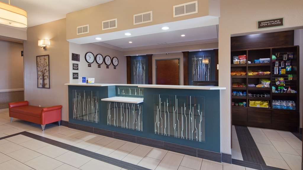 Best Western Inn & Suites - Make sure you visit our front desk staff for check in/out help.