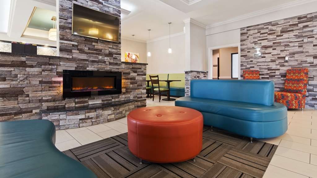 Best Western Inn & Suites - Our lobby is the perfect spot to relax after a long day of work and travel.