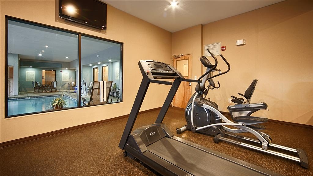 Best Western Plus Atrea Airport Inn & Suites - exercise chambre
