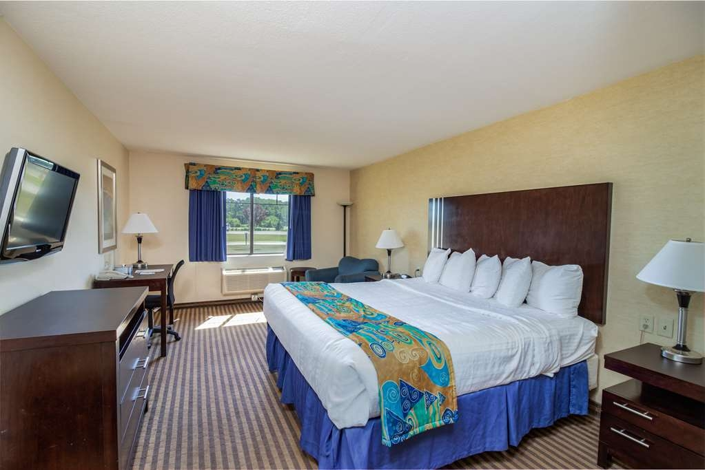 Best Western Plus Portage Hotel & Suites - Zona de descanso en la suite